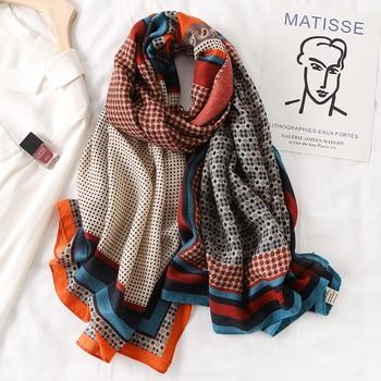2020 Autumn winter women beach quality shawl cotton scarf lady fashion scarves bandana pashmina wrap hijab muffler - discount item  40% OFF Scarves & Wraps