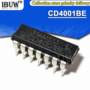 10PCS CD4001BE DIP14 CD4001 DIP-14 CD4001BD DIP