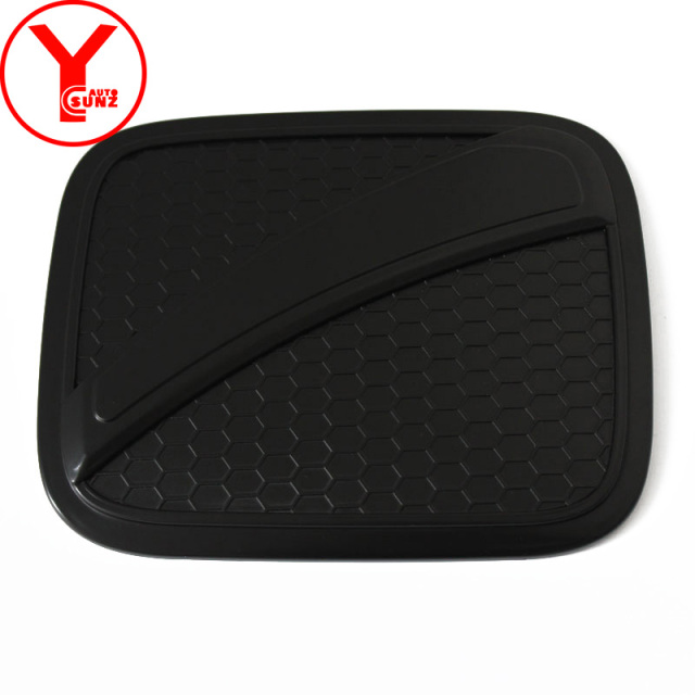XQRYUB ABS Carbon Fiber Fuel Tank Cover Protective Sticker,for Hyundai KONA 2018 2019