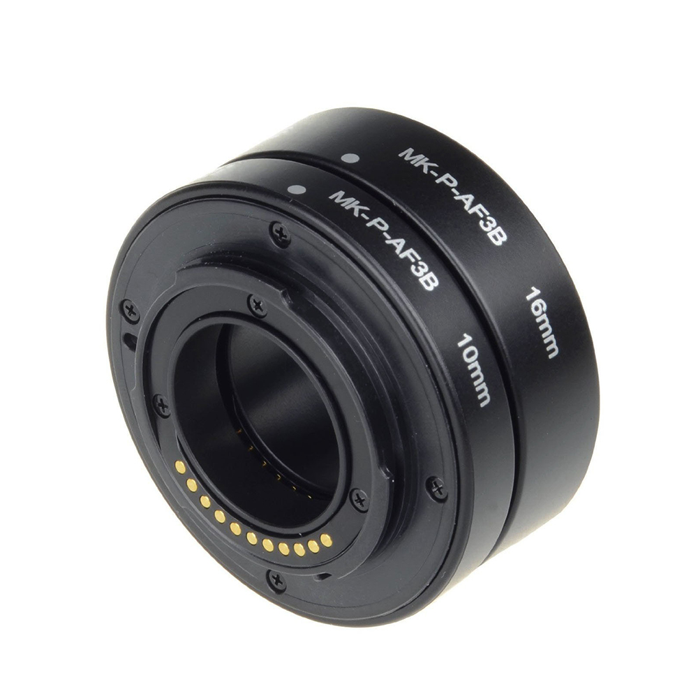 Autofocus Extension Tube Ring Mcoplus Macro for Panasonic Lumix Olympus M4 / 3 Micro Camera 4/3 E-M5 E-PL6 GX1 GM5 G7 E-PL7 image
