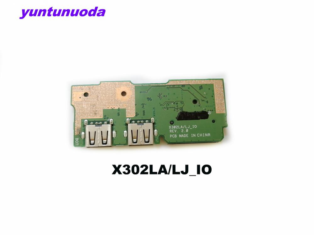 Original for <font><b>ASUS</b></font> X302LA/LJ X302LJ <font><b>X302</b></font> X302L X302LA/LJ_IO REV.2.0 tested good free shipping image
