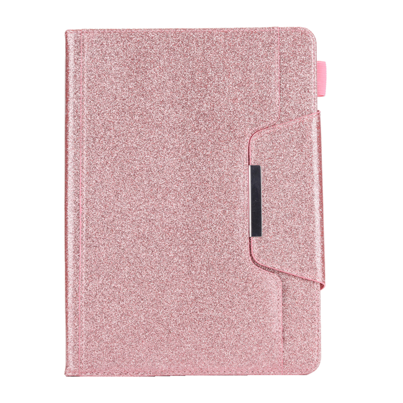 Rose Gold Red Cover For iPad 10 2 inch 2019 Glitter Bling Leather Funda Case For Coque iPad 10