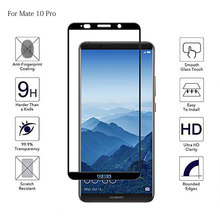 Full Cover Tempered Phone Glass For Huawei Mate 10 Lite Pro Full Coverage Screen Protector For Huawei Mate10 Lite Pro Film Glass(China)