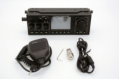 Recent 10-15W RS-918 SSB HF SDR HAM Transceiver Transmit Power TX 0.5-30MHz V0.6