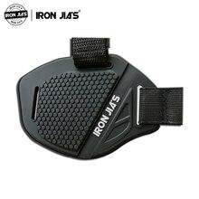 IRON JIA'S мотоциклетные ботинки Защитная крышка Черный мотоцикл мото шестерни переключения Мужская обувь мото загрузки крышка переключения