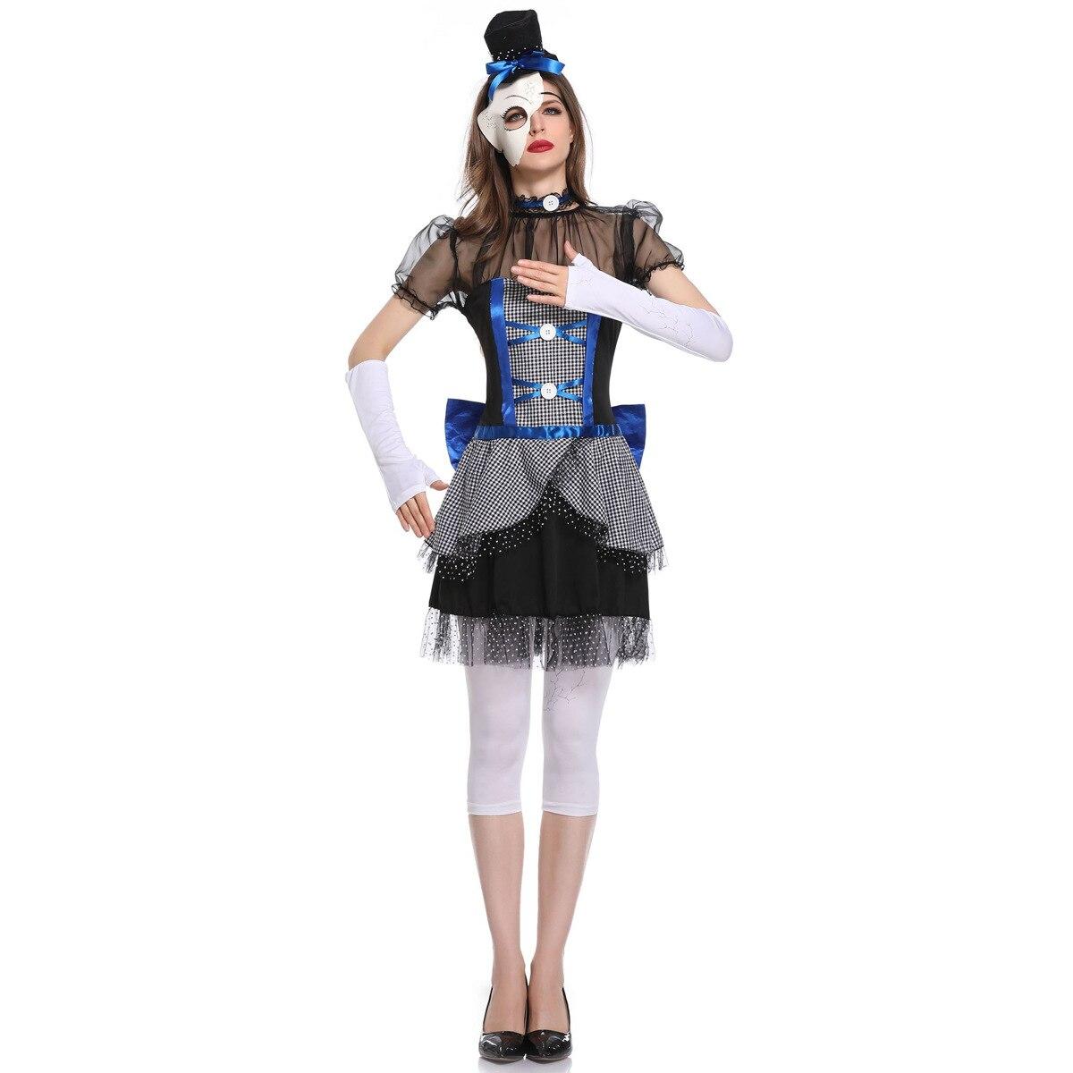 Vampire Costumes Gothic Vampire Service Halloween Ghost Doll Dark Ghost Bride Stage Wear