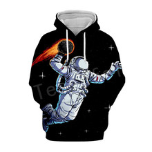 Tessffel Galaxy Space Astronaut Tracksuit casual Harajuku 3D Printed Hoodie/Sweatshirt/Jacket/shirts Mens Womens hiphop style-4