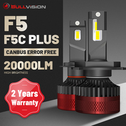 880 LED Headlights F5 F5C Plus 20000LM H7 H1 9012 HIR2 881 H27 H16 5202 H11 H9 H8 9005 9006 HB3 HB4 Canbus Error Free For Lens