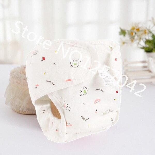 Хлопковые детские подгузники, подгузники, многоразовые стираемые тканевые подгузники, непромокаемые подгузники для новорожденных, трусики для тренировок, подгузники с карманами - Цвет: Pink Monkey