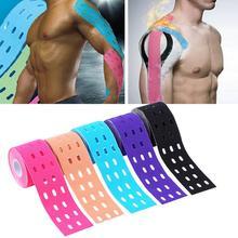 1 шт. 500 см x 5 см кинезиология лента мышцы спорт уход эластичность физиотерапия валик удар терапевтический лента клей