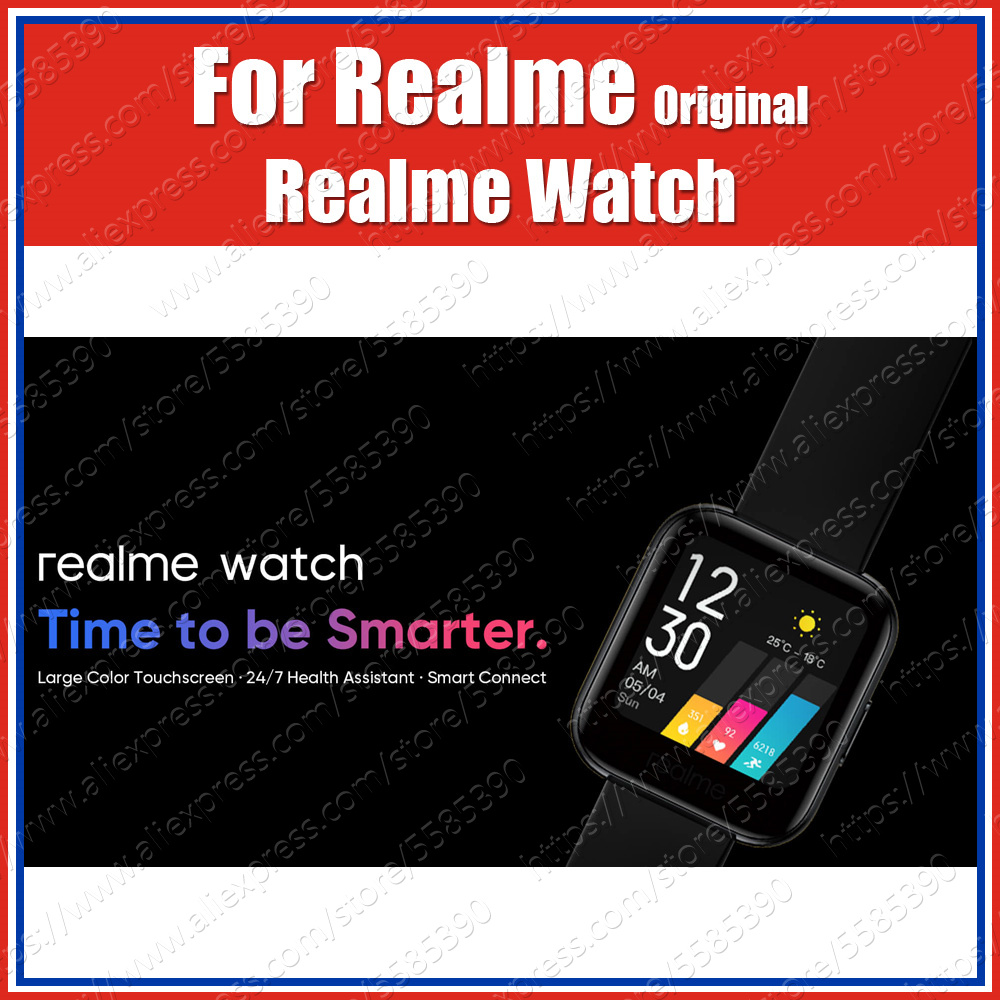 SpO2 1.4 inch 160mAh Original Realme Watch Blood-oxygen Level Monitor Camera Music Control Activity Tracker Health Assistant(China)