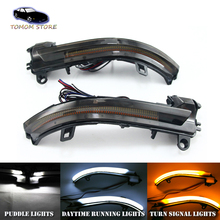 2x led side mirror turn signal dynamic lights DRL Puddle lamps for BMW F20 F21 F22 F23 F30 F31 F34 F32 F33 F36 X1 I3 E84 universal replacement carbon fiber mirror cover for bmw rearview door mirror covers x1 f20 f22 f30 gt f34 f32 f33 f36 m2 f87 e84