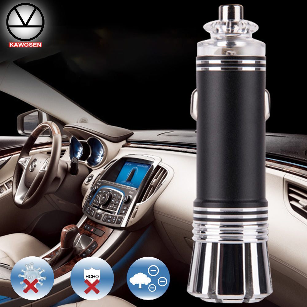 Powerful Car Air FreshenerPurifier Oxygen Bar Ionizer for Universal 12V Car Cigarette Lighter Plug AFO 07