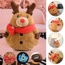 Hand-Warmer Rechargeable Heat-Levels Adjustable Mini 3 Plush USB 5000mah Xmas Christmas-Deer