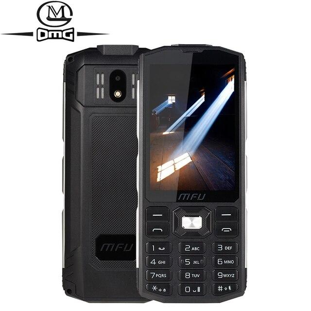 4000mAh bateria rosyjska klawiatura odporna na wstrząsy telefony komórkowe 3 Tri sim bezprzewodowa FM duża objętość gsm odblokuj wytrzymały telefon A905