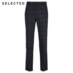 Image 5 - SELECTED Winter Slim Fit Plaid Pants S