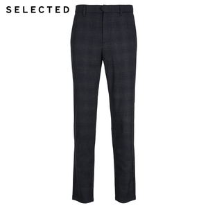Image 5 - SELEZIONATO Inverno Slim Fit Plaid Pantaloni S