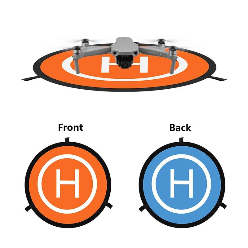 Foldable Landing Pad 55 70 75CM For DJI Mavic Pro Mini Air 2 Spark Phantom 3 4 FIMI X8 2020 Drone Parking Universal Accessories