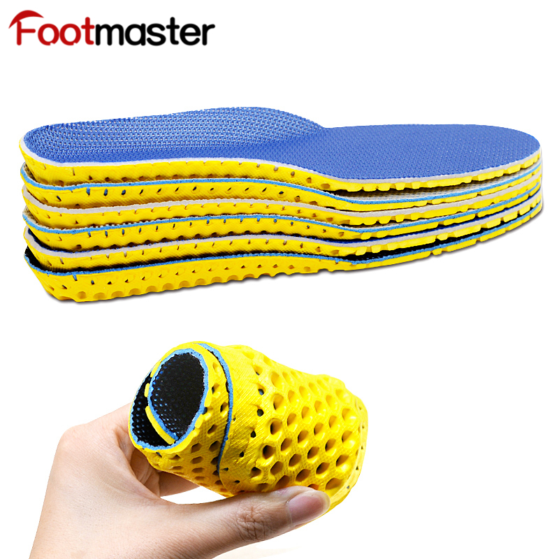 FootMaster Elastic  Orthotic Arch Support Shoe Insert Flat Feet Insoles For Shoes Comfortable EVA Orthopedic Insoles