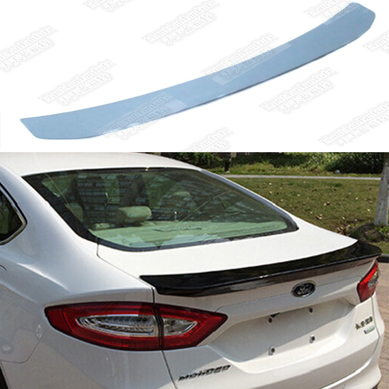 Primary Unpaint Rear Trunk Lips Spoiler Wing ABS For Ford Escape Kuga 2013-2017