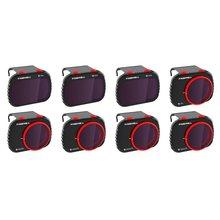Freewell todo o dia-4k series-8 filtros de pacote compatíveis com mavic mini/mini 2 drone