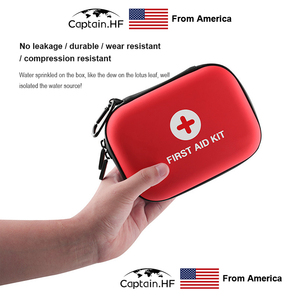Image 4 - US Captain Estuche para botiquín de primeros auxilios, portátil viaje, medicina, paquete, bolsas de kit de emergencia, pequeño organizador divisor de almacenamiento de medicina