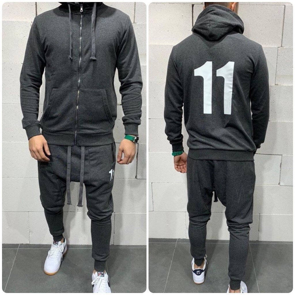 Spring And Autumn Men's Suit Casual Sports Sweater Suit 2 Piece Sets Tracksuit Men Hooded Sweatshirt Casual Sportswear