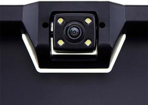 Image 4 - 4 LED Light Reverse Camera European License Plate Frame Car Rear View Camera Waterproof Night Vision Reverse Backup Camera New