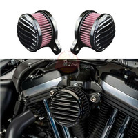 New Rough Crafts Air Cleaner Intake Filter Syetem For 2004 2016 Harley Sportster XL 883 1200 universal auto Air Cleaner Filter