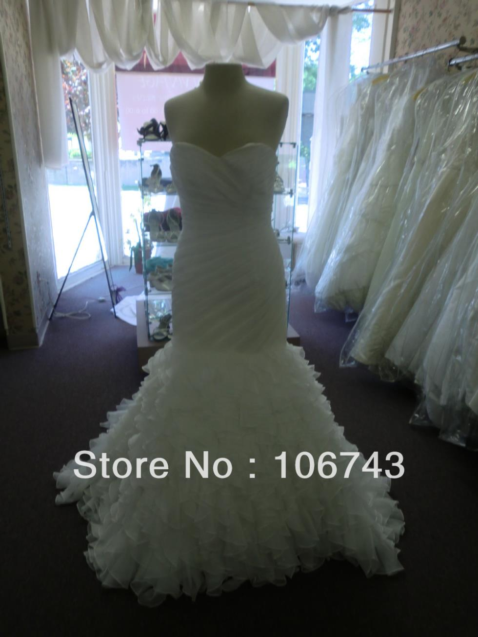 Free Shipping 2016 New Style Best Sexy Brides Maid Dresses Custom Size Sheath Dresses Pleat Cute Mermaid Wedding Dresses