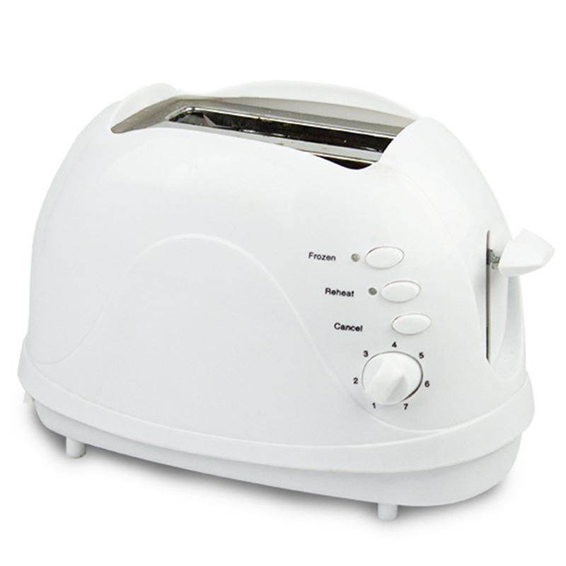Toaster, 2 Slice Toaster, Double Extra Wide Slot Small Mini Toaster With Reheat/Defrost/Cancel Function For Small & Large Bread