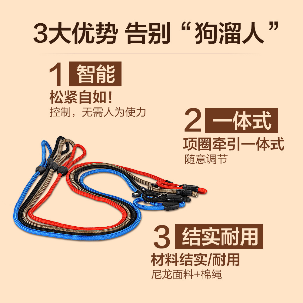 P Pendant Dog Hand Holding Rope Dog Training Pendant Son Mattel Di Small And Medium-sized Dogs Dog Traction Rope Dog Leash Puppy