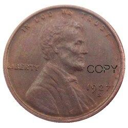 США 1927S один цент 100% медная копия монеты