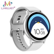 цена на Smart Watch women ECG Heart Rate Blood Pressure oxygen IP68 Waterproof Sport Fitness Tracker Smartwatch MK011