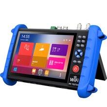 цена на IPCX all-in-one CCTV Tester Monitor multi-functional 7 inch display IPC Tester H.265 4K IP 8MP TVI CVI AHD SDI CVBS OPM VFL POE