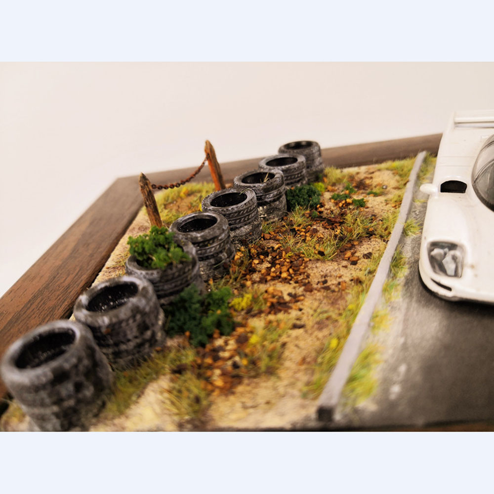 Model Rubber Tires 1:64 And 1:43 For Racing Auto Track Road Scene Display Design Material Parts For Toy Diecast Model Car