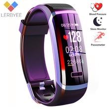 2020 Bracelet de remise en forme chaude GT101 couleur écran moniteur de fréquence cardiaque Bracelet intelligent étanche rappel dappel activité Tracker pour iPhone