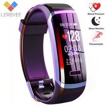 2020 Hot Fitness Band GT101 Kleur Screen Hartslagmeter Smart Armband Waterdicht Call Herinnering Activiteit Tracker Voor Iphone