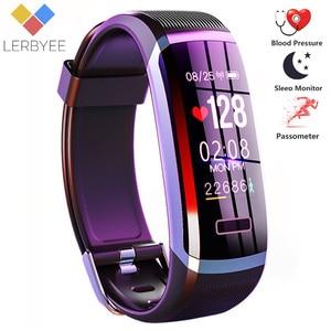 Image 1 - 2020 Hot Fitness Band GT101 Kleur Screen Hartslagmeter Smart Armband Waterdicht Call Herinnering Activiteit Tracker Voor Iphone