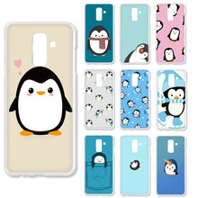 Cute cartoon penguin twardy futerał na telefon do Galaxy A10S 20S 30S 40S 50S 60 70 A9 a8 A7 A6 Plus 2018 A5 2017 2016 2015(China)