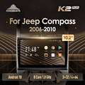 KingBeats штатное головное устройство For Jeep Compass 1 MK 2006 - 2010 GPS Android 10 автомагнитола на андроид магнитола For Джип Компасс 1 For автомобильная мультимед...