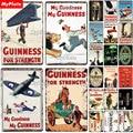 Винтажные металлические знаки Guinness, металлическая пластина, Настенный декор для паба, клуба, мужская пещера, пластина, украшение для бара