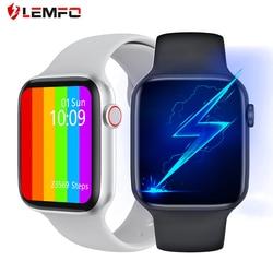 Original IWO W26 W46 Smart Watch Men Bluetooth Call ECG 1.75 inch 320*385 Screen DIY Dial PK IWO 12 pro IWO 13 For Android IOS