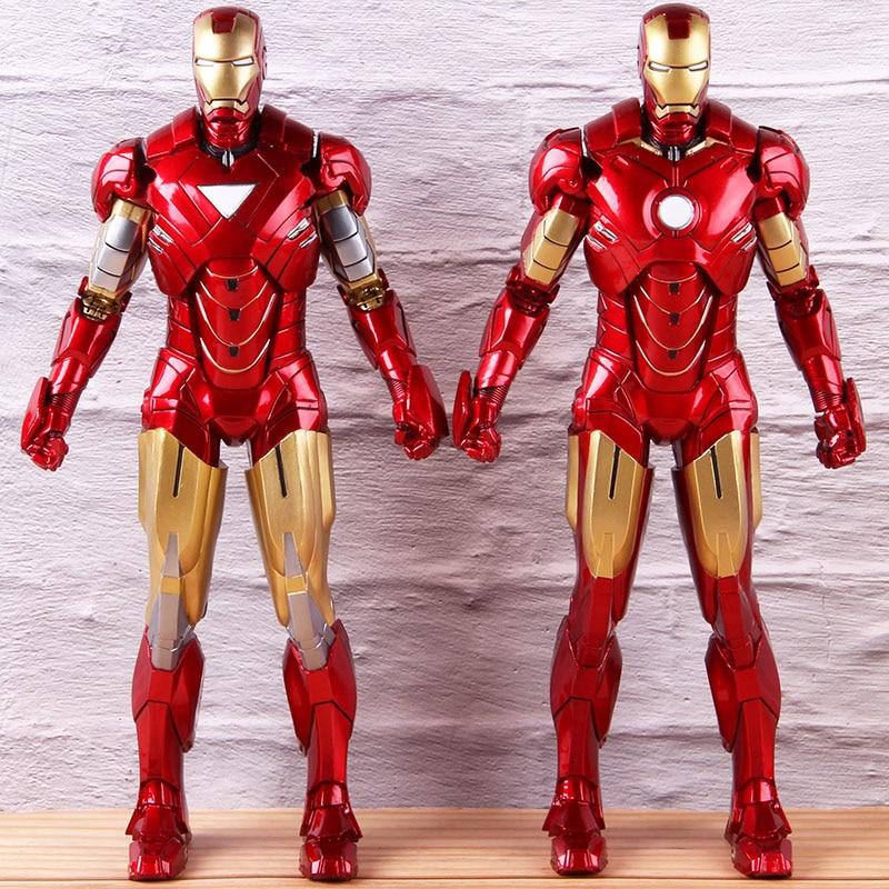 Iron Man 2 MK6/MK4 Marvel PVC figurine d'action collégiale marque VI/Mark IV Ironman 1/6th échelle modèle jouet