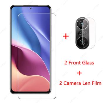 2 sztuk dla Xiaomi Poco F3 szkło dla Xiaomi Poco F3 M3 Pro 5G F2 X3 GT Pro NFC szkło hartowane Screen Protector aparat Len Film tanie i dobre opinie HATOLY Przezroczysty TEMPERED GLASS CN (pochodzenie) Folia na przód 2 5D Full Coated with Glue Full Cover the Screen anti-sratch water-resistant Extremely Smooth Bubble-Free