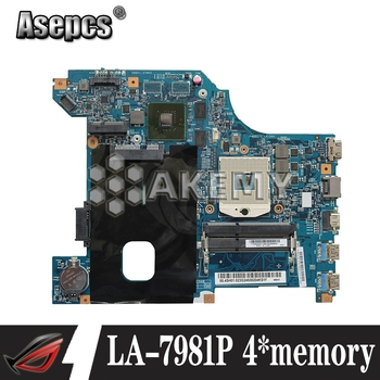 LA-7981P G480 motherboard For Lenovo G480 QIWG5_G6_G9 LA-7981P REV:1.0 GT610M laptop motherboard Test mainboard