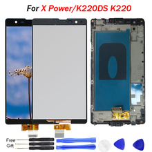 For LG X Power Display screen K220DS K220 LCD Touch Screen Original Quality AAA Digitizer Assembly Replacement For K220DSF K220D free shipping lcd for lg x power x3 k220ds k220dsk k210 k450 k220 lcd display digitizer touch screen assembly