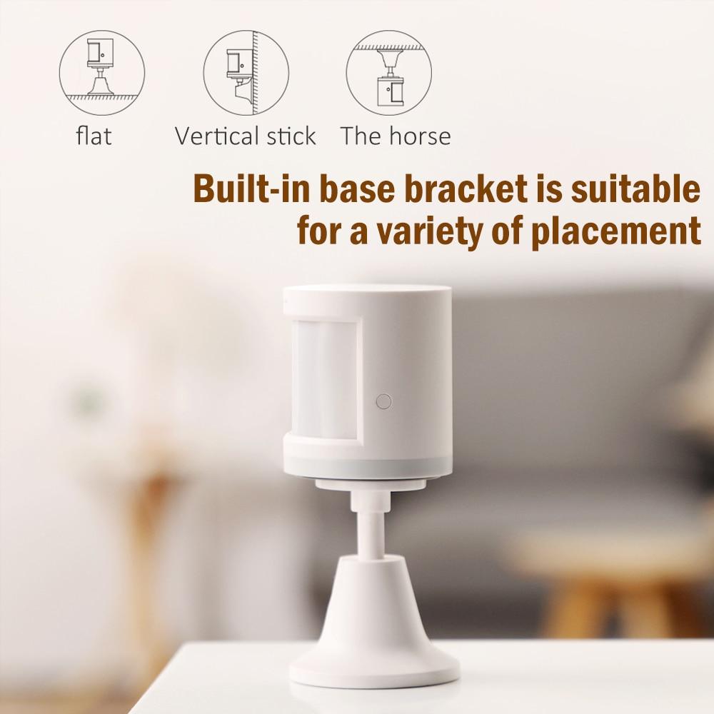 Aqara Smart Human Body PIR Sensor Zig.Bee Wireless Movement Motion Sensor Connection Holder Smart Home Kit