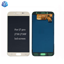 Original Oled LCD For Samsung J7 PRO Display Digitizer Assembly Replacemant J730 J730F Touh Screen(China)