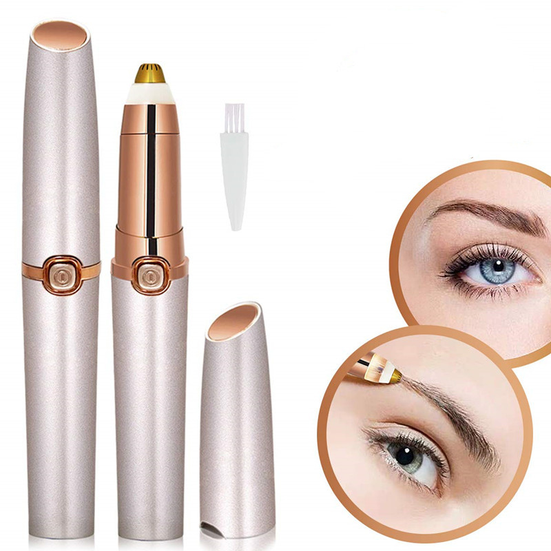 New Style Electric Eyebrow Shaping Device Women's Eyebrow Knife Automatic Eyebrow Useful Product Shaving Instrument Hair Removal Air Purifiers     - title=
